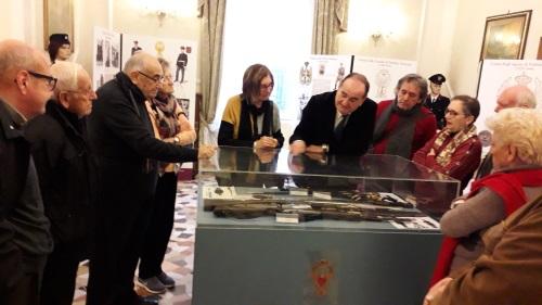 FOTO I PENSIONATI DELLA CNA IN VISITA AL MUSEO DELLA POLIZIA DI STATO (1)