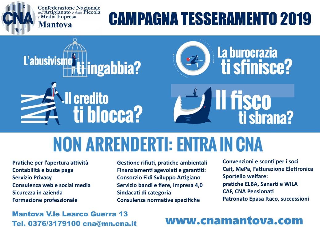 campagna tesseramento 2019 CNA versione 2