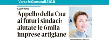 SLIDE appello della CNA COMUNALI 2019