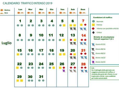 calendario delle vacanze