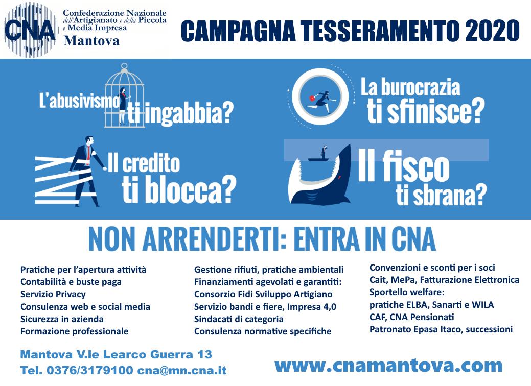 campagna tesseramento 2020 CNA versione 2